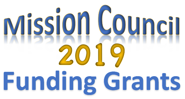 Mission Council Funding Grants for 2019