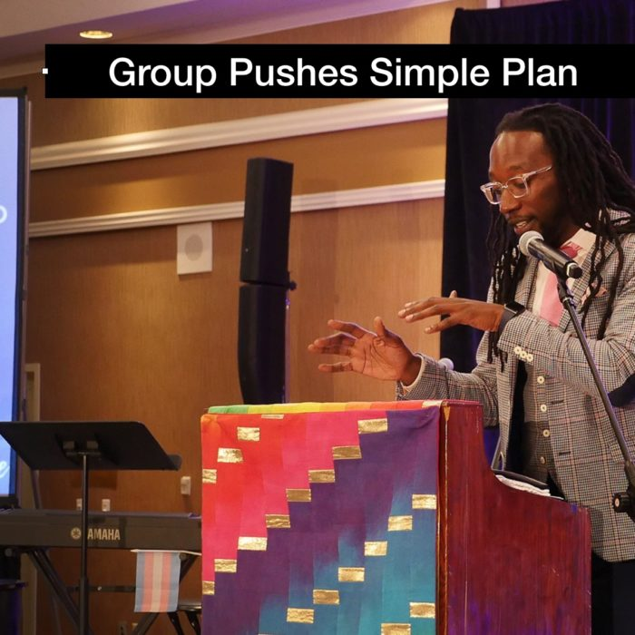 New group pushes Simple Plan as way forward