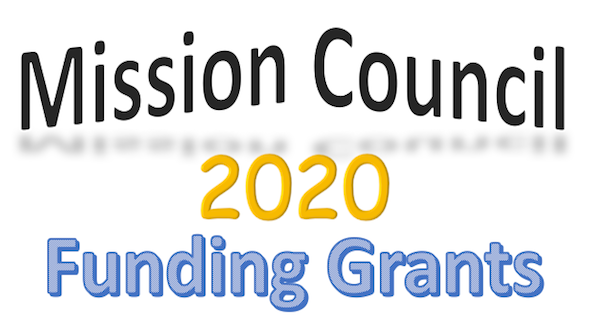 Mission Council Funding Grants for 2020