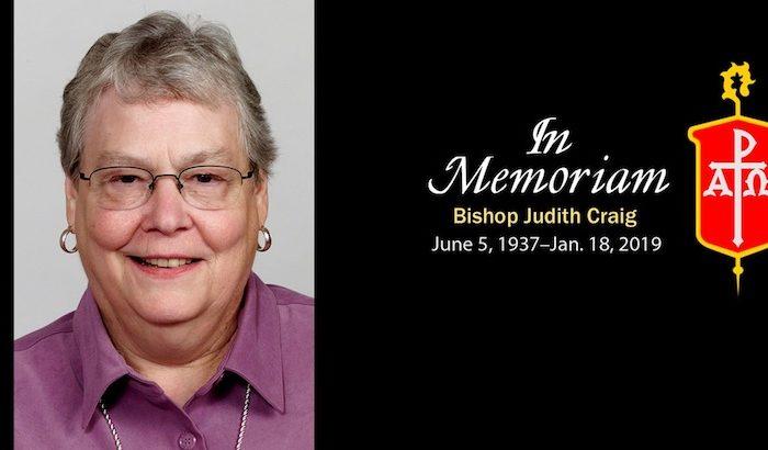 Bishop Judith Craig, dies at 82