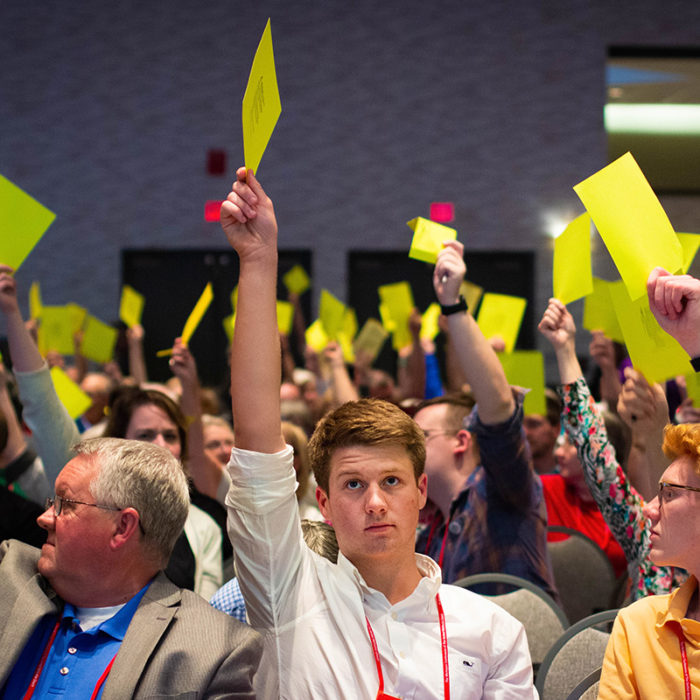 Michigan conference votes to send Protocol to General Conference.
