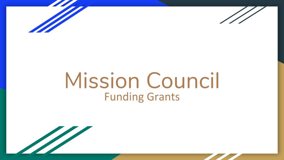 Mission Council New Grant Process